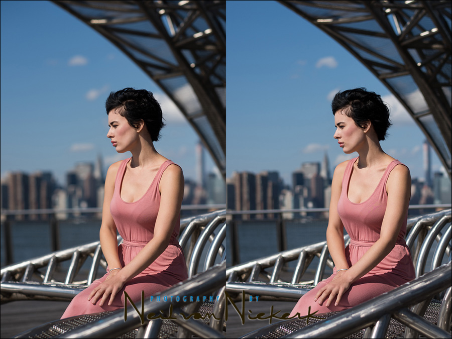Full-frame vs Crop-sensor comparison : Depth-of-field & perspective