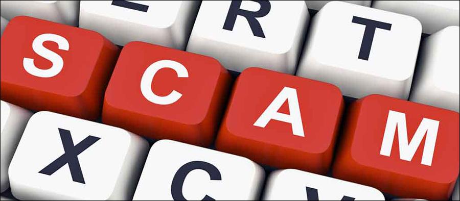 Scam – Domain name registration / SEO service registration