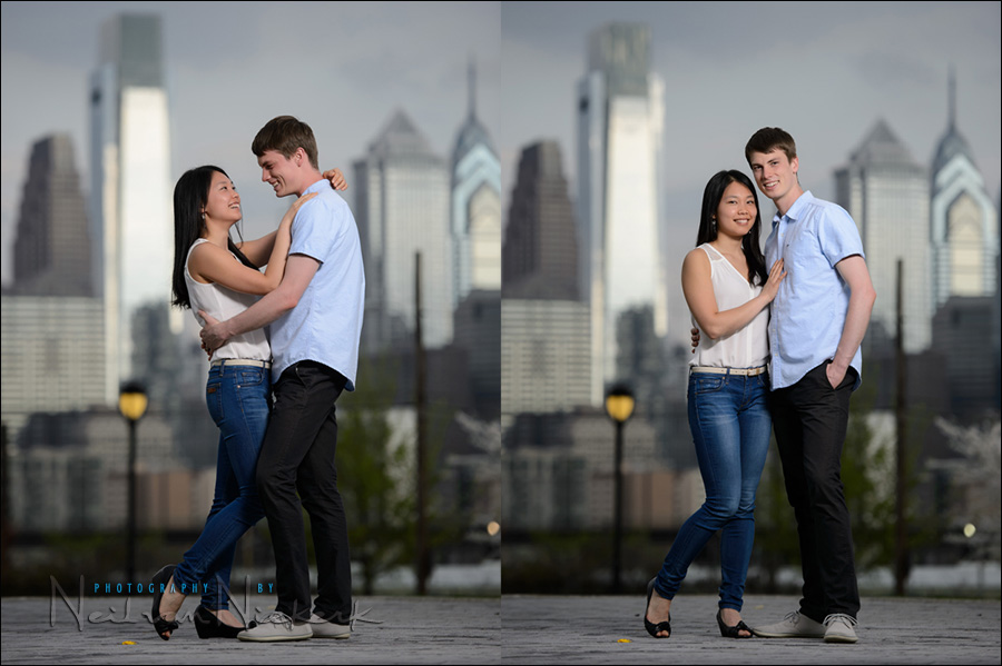 engagement photo sessions: posing, lighting & context