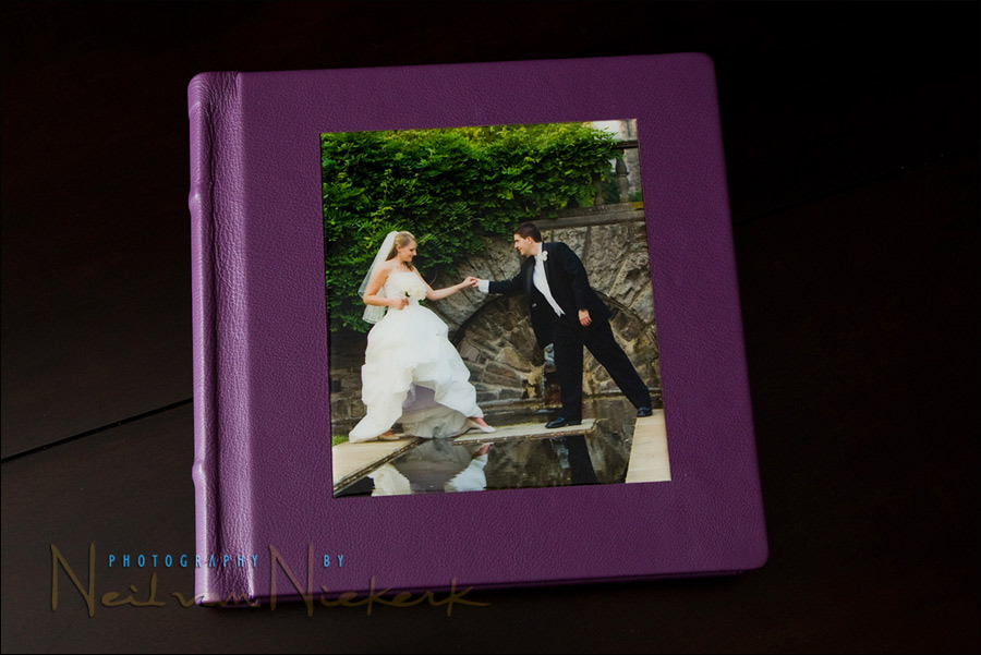 Wedding photography – products delivered to clients