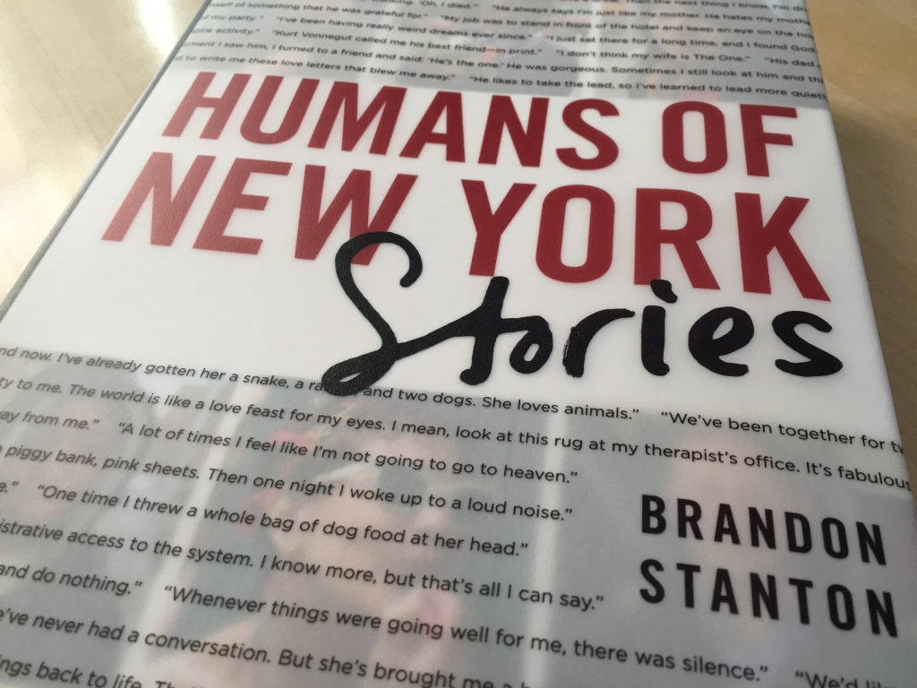 book review: Humans of New York – Stories