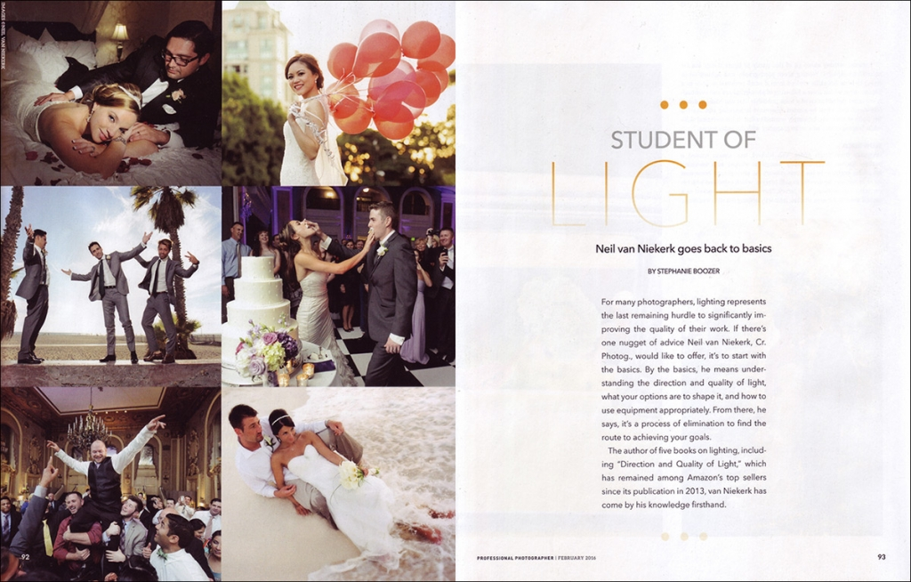 Featured in Professional Photographer magazine (PPA)