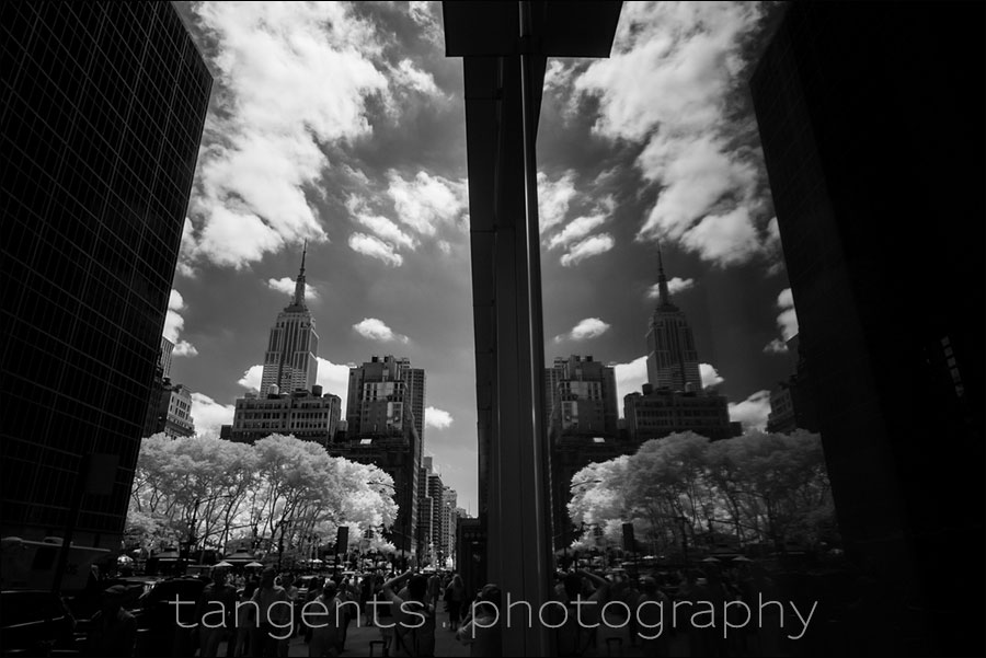 New York infrared B&W photos