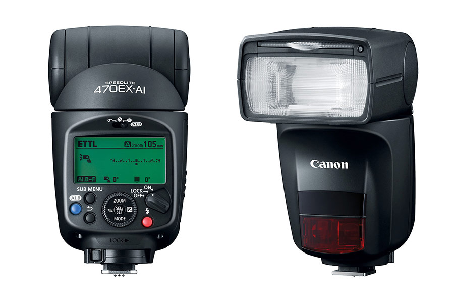 Review: Canon Speedlite 470EX-AI flash