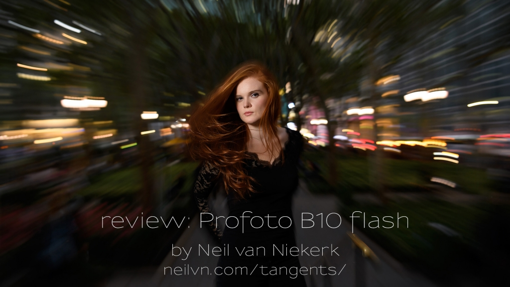 review: Profoto B10 flash