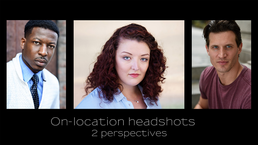 video: On-location headshots – two perspectives