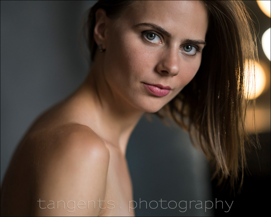 Direction of light – Using available light in the studio